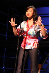 Ashley Chiu as Maureen, Hillbarn Theatre
