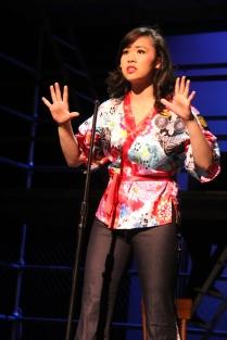 Ashley Chiu as Maureen, Hillbarn Theatre