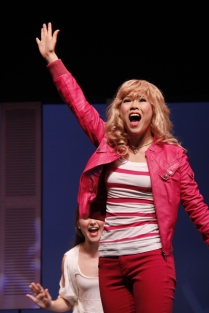 Ashley Chiu as Elle Woods, Legally Blonde the Musical
