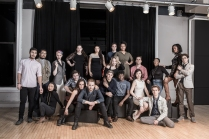 Ashley Chiu and the cast of RENT, Photo Courtesy of Paolo Miguel Salud, NYU Tisch School of the Arts Mainstage, Promotional Cast Image