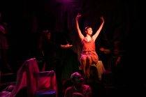 Ashley Chiu as Terpsicore in Xanadu at NYU
