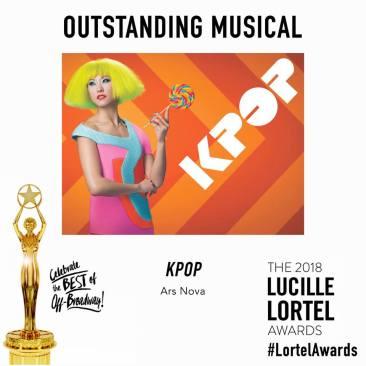 KPOP Lucille Lortel